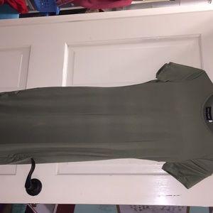 Long Green Dress, Never Worn